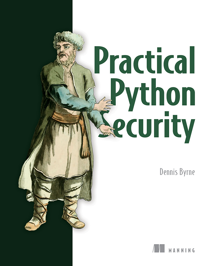New MEAP! Practical Python Security by Dennis Byrne https://t.co/0Q97Tx0eMx @manningbooks #python #security #django  Check out the #liveBook: https://t.co/4rPasYXrRi https://t.co/IHatDbDeG8