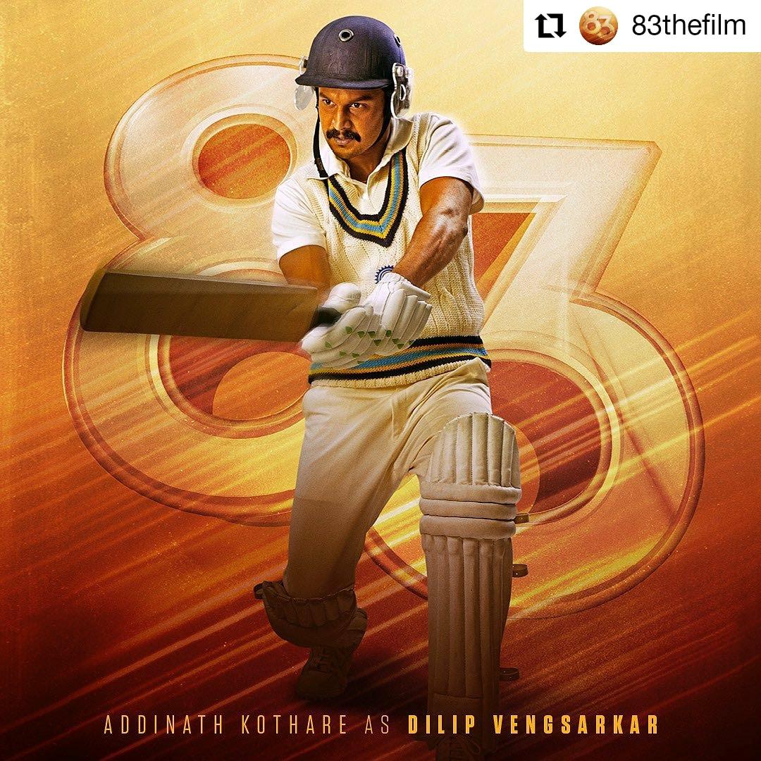 @83thefilm #83thefilm  • • • • • • Known for his extraordinary batting skills, darr se toh inhe bowlers Colonel bulate hai. Presenting the next devil, #DilipVengsarkar! #ThisIs83   @addinath #addinathkothare  #KapilsDevils