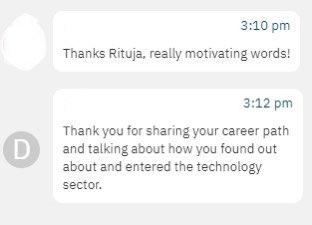 Look at this lovely feedback at the #SDGSummit with @CSREuropeOrg  I love doing what I do! Thank you @AndyBittnerova for having me!!   #youngleader #risingstar #WomeninTech #SkillsDiversity #DiversityandInclusion https://t.co/n4AZTDnScJ