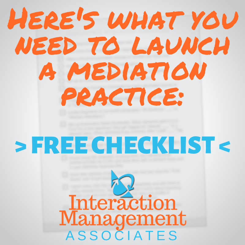 Do you have what it takes to launch a successful mediation practice?  Get our free checklist & find out >> https://t.co/jPos1j3qcE  #mediation #mediator #mediationskills #mediate #mediatortraining #mediationtrainingcourse #conflict #checklist https://t.co/BinlnFouVm
