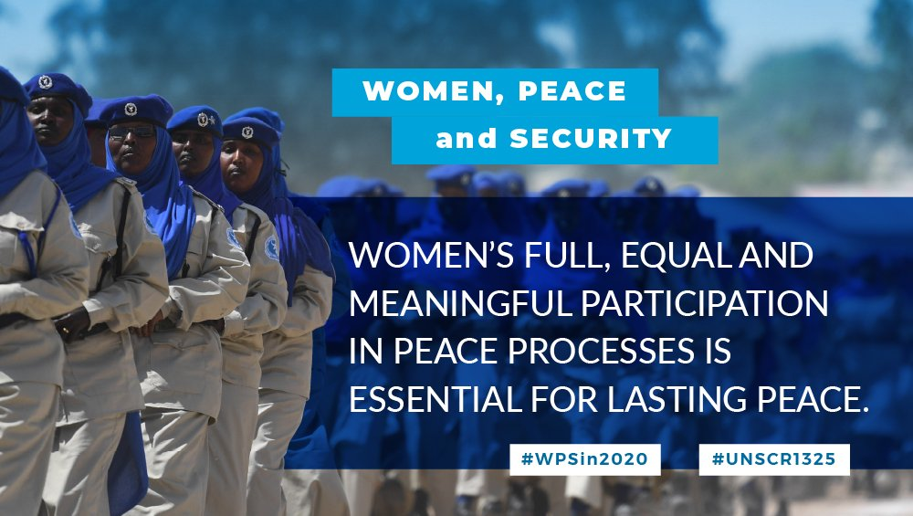 On #UNSCR1325's 20th anniversary, the @UN in Somalia highlights that when @AminaJMohammed visited, she pledged that the world body would continue to support the country's path to #peace, emphasizing the need for #women to take part in post-conflict reconstruction efforts. https://t.co/pqDTSLlgtW