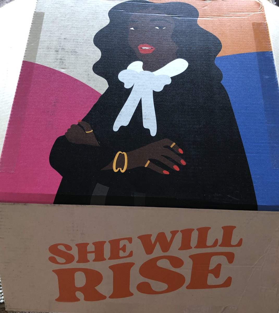 Let's take back this presidency and expand the Supreme Court with Black women. PERIOD. #shewillrise
