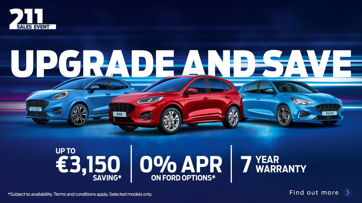Upgrade and Save - New Ford Cars