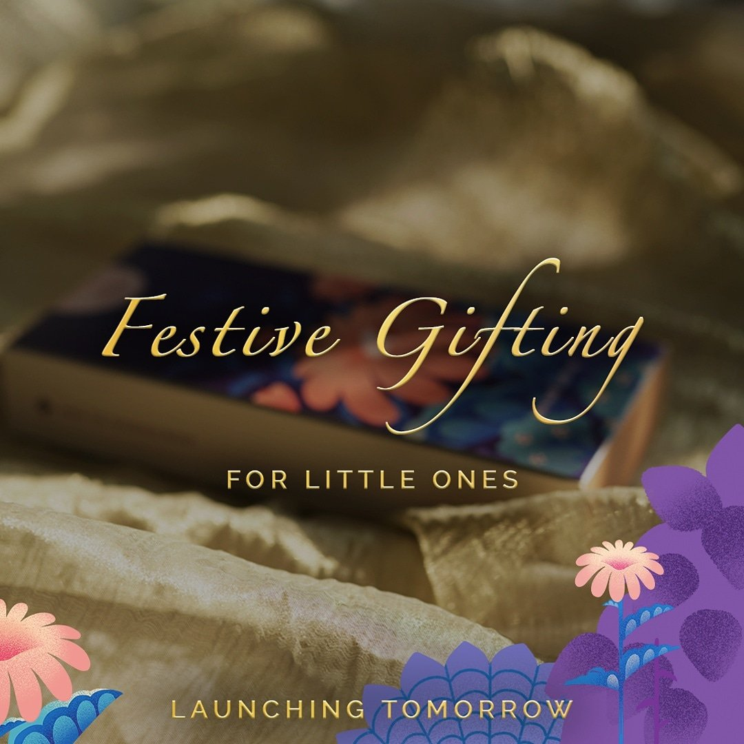 Hey Bud, Light up! ✨ It's  that time of the year again! So lets spread smiles and teach our babies the importance of rituals that bind us.  #MAATÉ's Festive gifting for the little ones, launches tomorrow! Stay Tuned