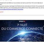 Image for the Tweet beginning: 🏅 #NuitduCommerceConnecté : prix décerné