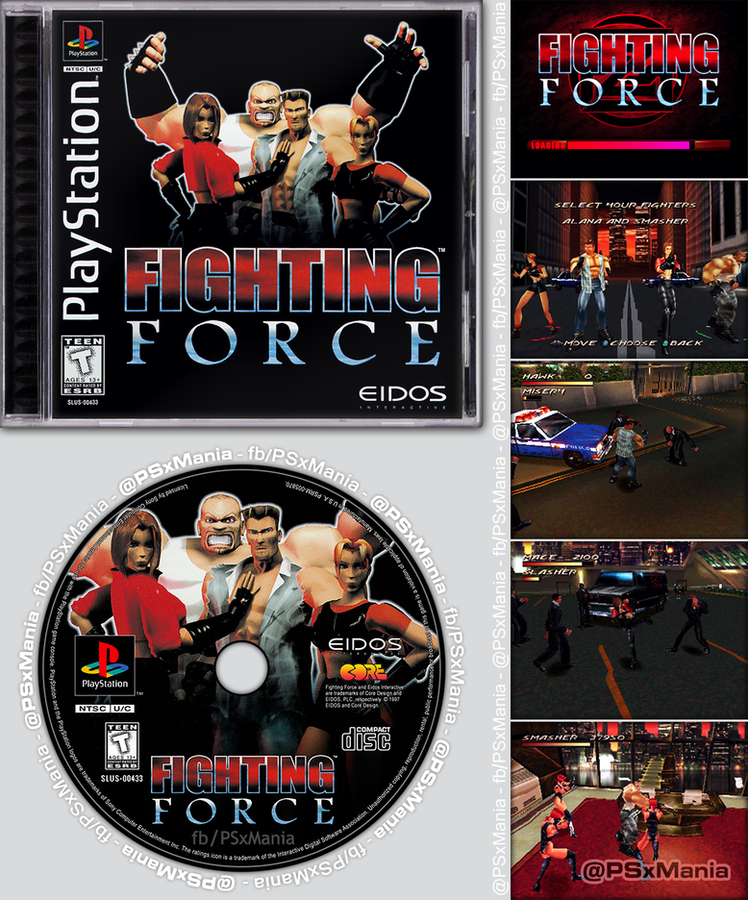 """23 years ago #OnThisDay (Oct 31, 1997), """"Fighting Force"""" was released for #PlayStation™ in North America! 🎂🎉🎈🎊🥳  #PSX #PS1 #PlayStation1 #retrogames #RetroGameSearch #RetroGaming #GamersUnite https://t.co/EvHkhLbSFQ"""