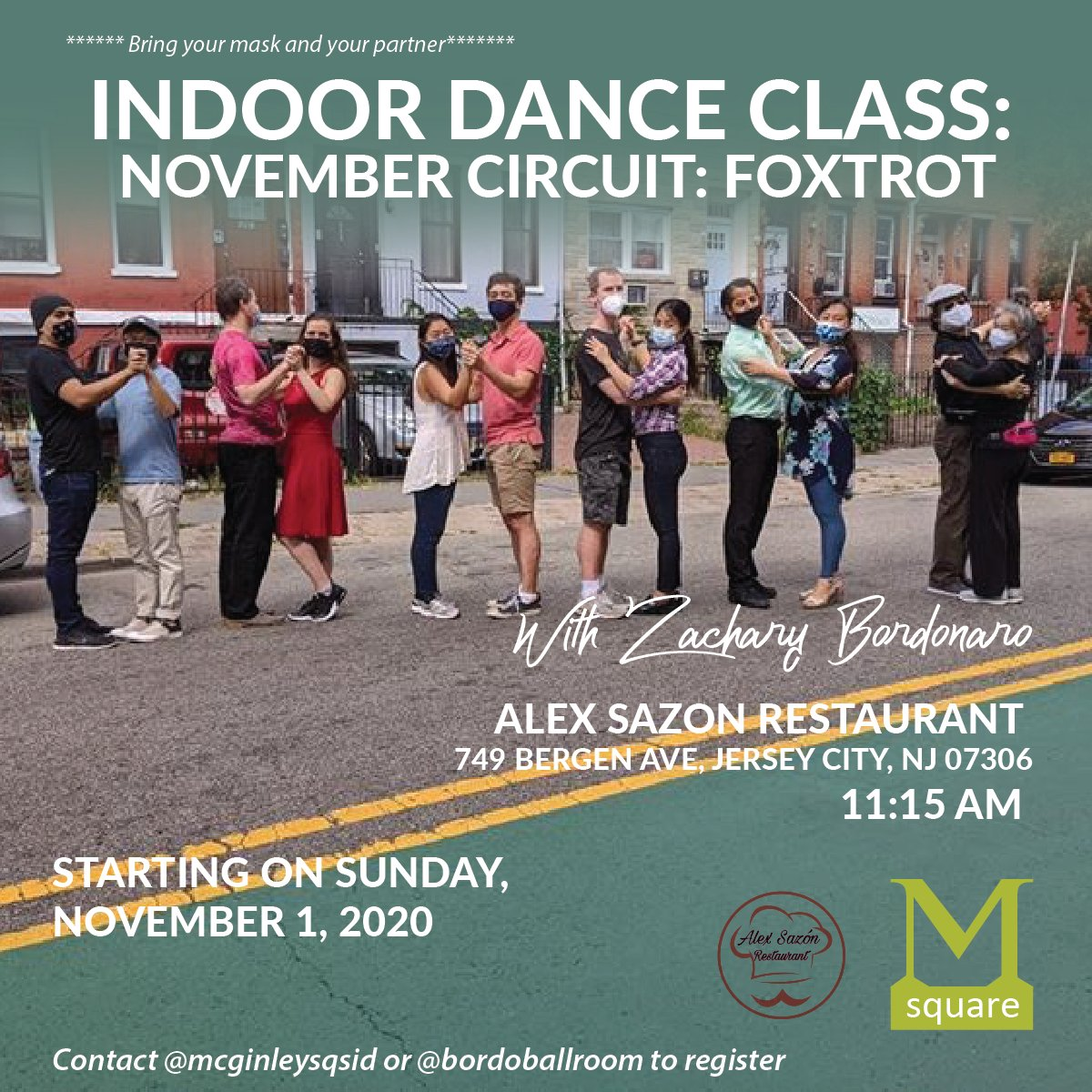 Join us on sunday for our #SundayFunday Activities: 😷  10:00 AM Free #Outdoor #BootCamp by @fourfitnessjc Bring Your Own Mat 📅 11:15 AM #Indoor Dance Class Session with the talented Zachary Bordonaro at Alex Sazon  📅 5:00 PM Jazz At Crema Join Matt Panayides for a great Jazz https://t.co/FxJOSDizcg