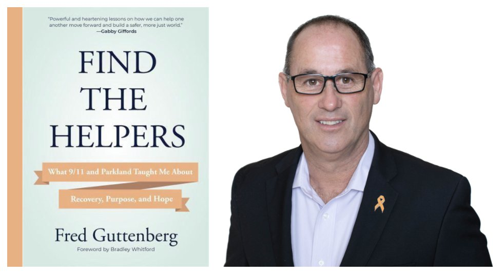 Kol Tikvah Hosts a Virtual Book Discussion with @fred_guttenberg (author of Find the Helpers): https://t.co/EftKSfOZEz #FredGuttenberg #FindtheHelpers #recovery #hope #purpose #event https://t.co/qaHPRSMI5c
