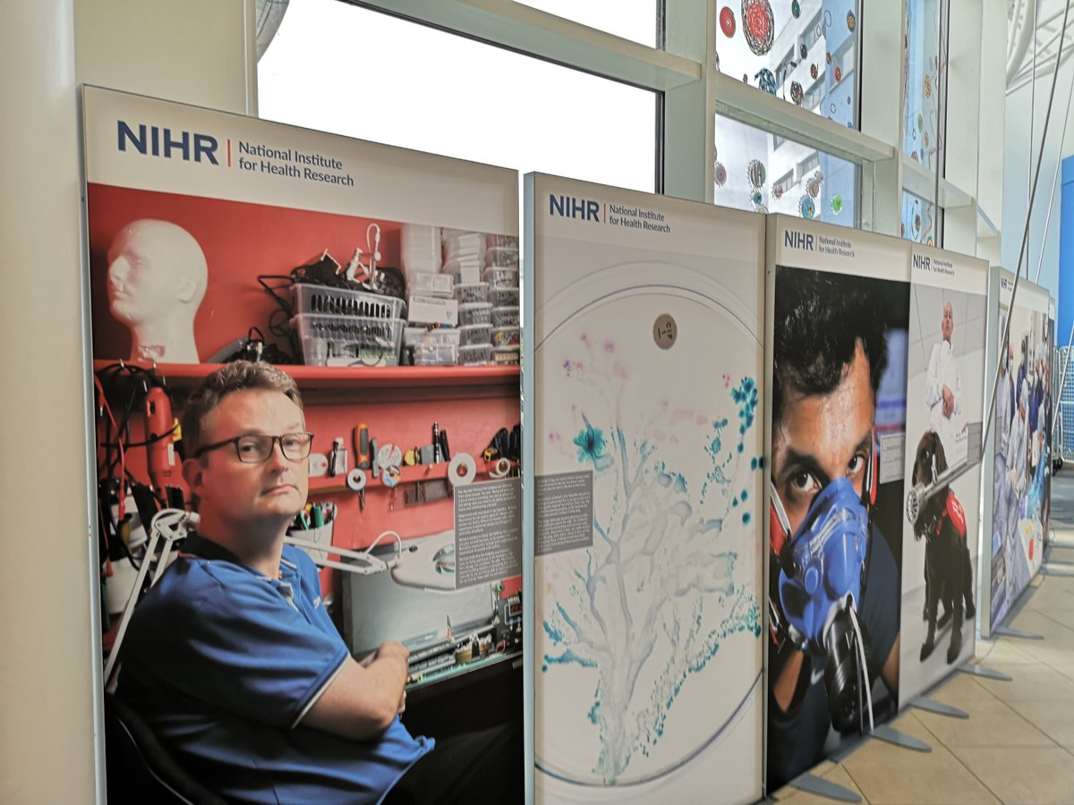 Our fantastic photo exhibition showcasing healthcare research in our local area has come to the John Radcliffe. It's in the JR West Wing throughout November.  But please, don't make a special journey to see it - respect the trust's visiting guidelines https://t.co/yraO8ddRiR https://t.co/223VbSF8Nm