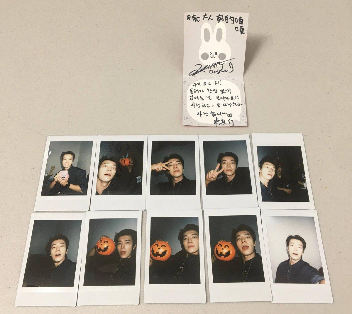 Today's Polaroid cr: 超级偶像联赛 https://t.co/qehh9dEJYs