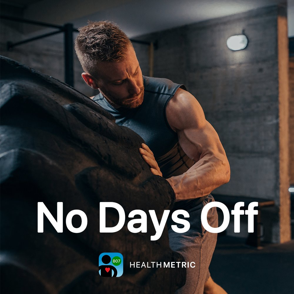 No Days Off 💪 Don't stop until you're proud💥  Reach your goals today with HealthMetric!  https://t.co/69qMs1nCWa   #workout #motivation #fitfam #fit #gym #fitspo #health #healthy #lifestyle #training #instagood #instafit #exercise #bodybuilding https://t.co/07jmh5egYq