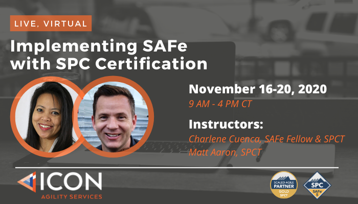 Expand your skills to drive business success by becoming a #SAFe5 Program Consultant (#SPC). Register at https://t.co/Z4fXz6fy0z to learn from two of the most highly experienced practitioners! #leanagile https://t.co/Yqj5Agk4vj