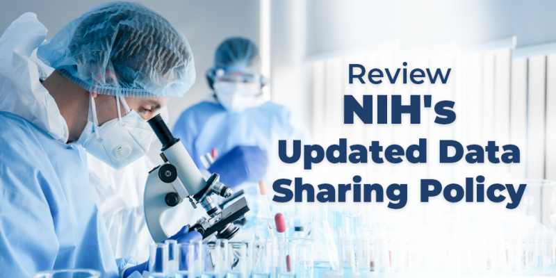 The updated @NIH Data Management #DataSharing Policy has been released. Learn more how the policy changes will affect your #CancerResearch: https://t.co/cLFWbZcuMD #NCIODS https://t.co/TkTwpC14LV