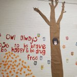 Image for the Tweet beginning: Red Ribbon Week concludes with