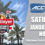 Image for the Tweet beginning: The 76th TaxSlayer Gator Bowl