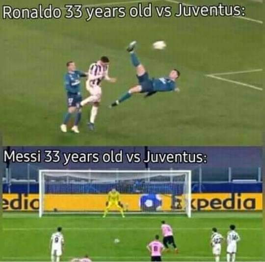 Goal are biased 😢  When #Ronaldo scores a Penalty, they call him Penaldo  But when Messi scores a Penalty they praise him 😡  Favouritism is bad 😔🤦🏻♂️  The only ONE King that is #CR7 #CristianoRonaldo #ForzaJuve #GOAT #goals https://t.co/VydDkZ1Fjm