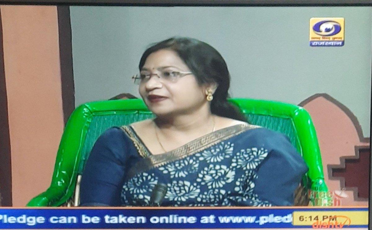 Hosted @DDNewsRajasthan Choupal on #RashtriyaEktaDiwas