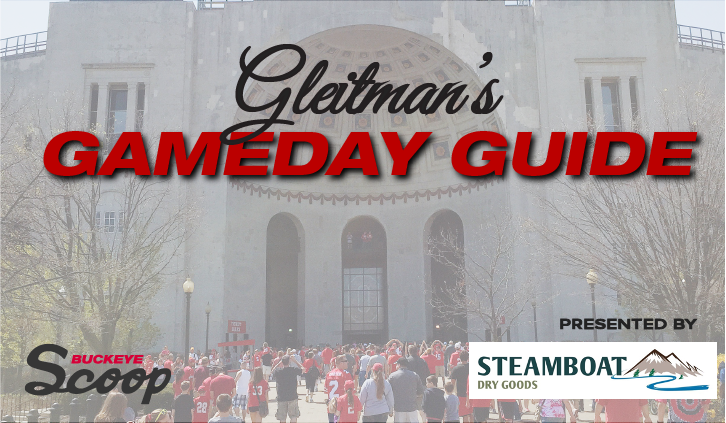 Who needs to step up for #OhioState to beat #PennState? What will the final score be? Who should you pick straight up and against the spread? Find out that & more in Gleitmans Gameday Guide presented by @MTsteamboat on @BuckeyeScoop buckeyescoop.com/page/blog/arti…