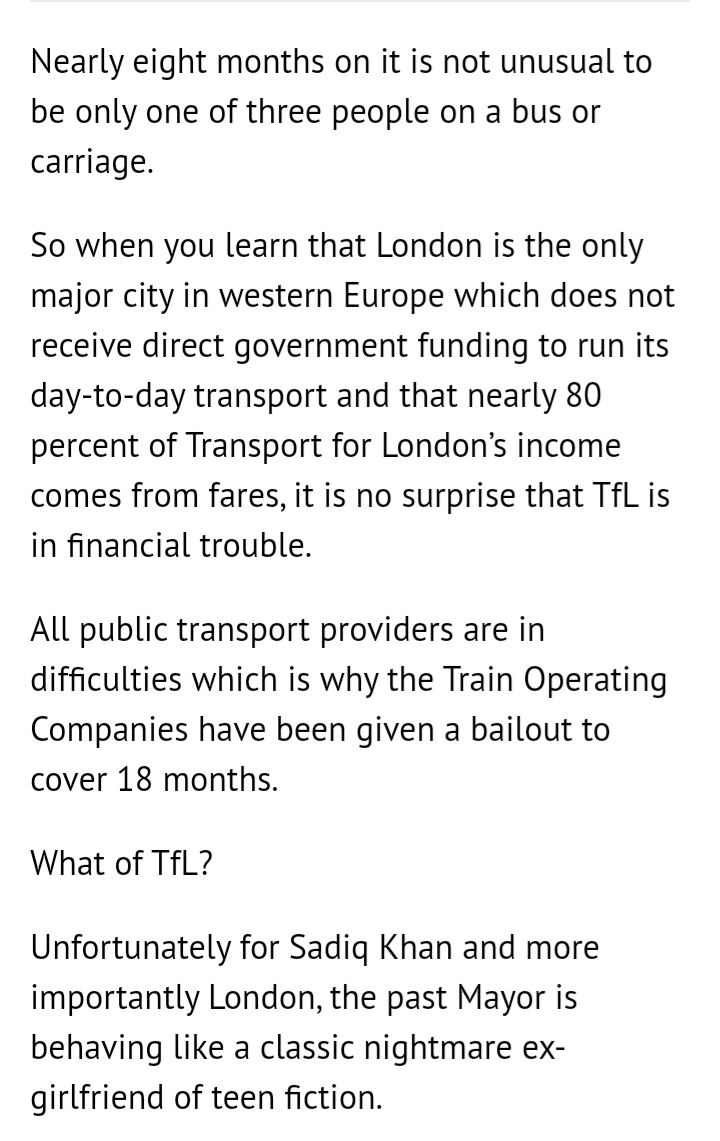 Current Government proposals for TfL:   - Cut free travel for U-18s - Extend the C-Charge - Raise fares  As @EmilyThornberry writes @IslingtonTrib - this would hit Londoners with a triple whammy of costs at a time when so many people already face hardship. https://t.co/7dp0Jn7Y8W https://t.co/gAa5aljP2S