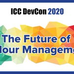 Image for the Tweet beginning: ICC DevCon2020 will include talks