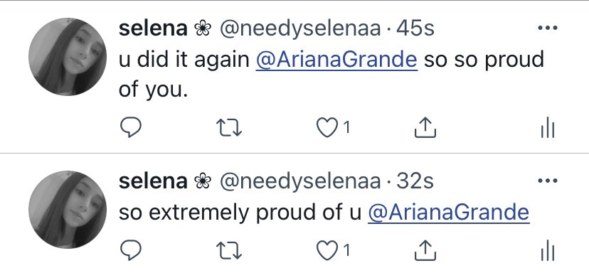 can any account that has arianas follow retweet these plz