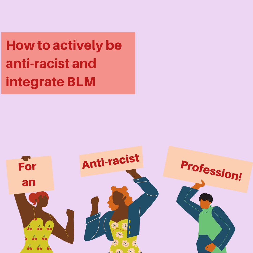 Today we'd like to offer a few suggestions as to how we can ALL learn to be actively anti-racist and integrate Black Lives Matter.   #architecture #blackhistorymonth #blm #blacklivesmatter #amovementnotamoment #design #education #profession https://t.co/eyFF1Wz1Sa