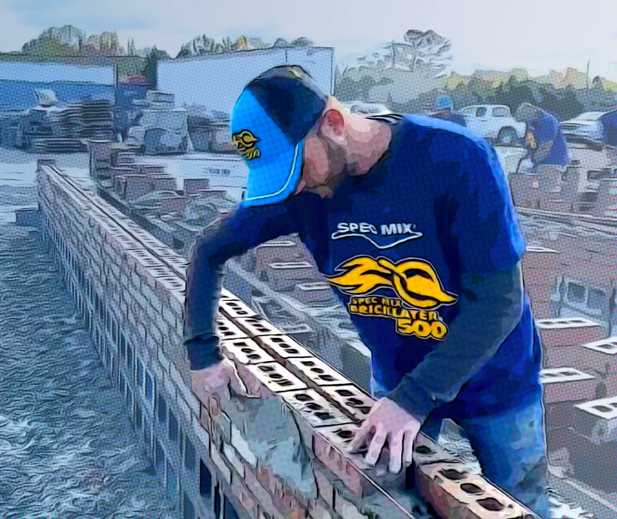 20 MINUTES LEFT!   Watch LIVE here: https://t.co/X90MmMJ5rS  #masonry #bricklayer #smbl500 #masonrystrong https://t.co/HG18FZgR4F