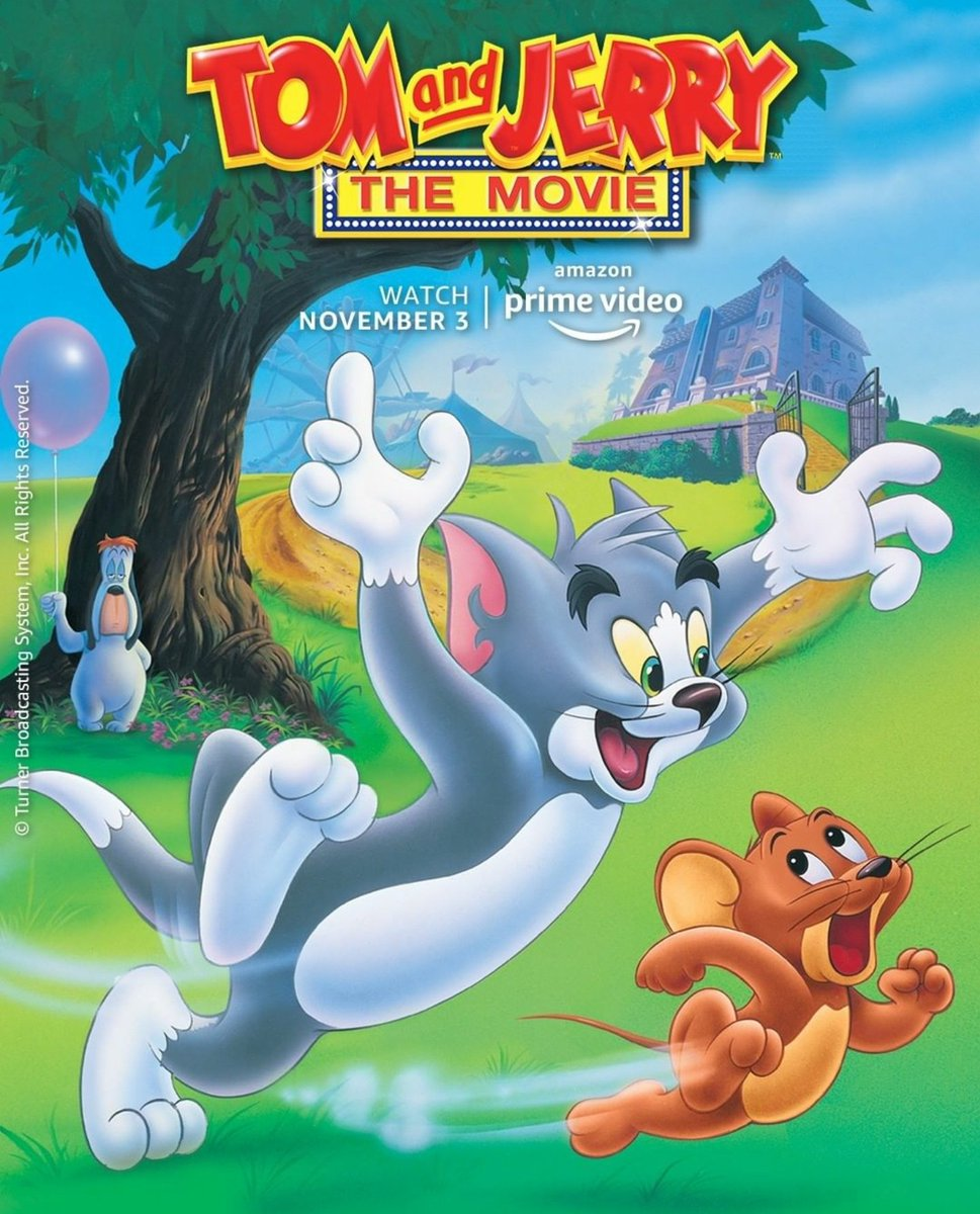 Tom and Jerry - The Movie (1992), coming to Amazon Prime India, November 3rd. https://t.co/syXBJ3l9ZP