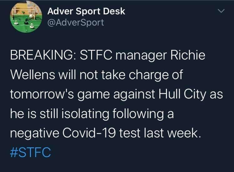 #STFC 😂😂😂😂 That'll get under Robinson's skin #our scum https://t.co/vjfdWv4Cm3