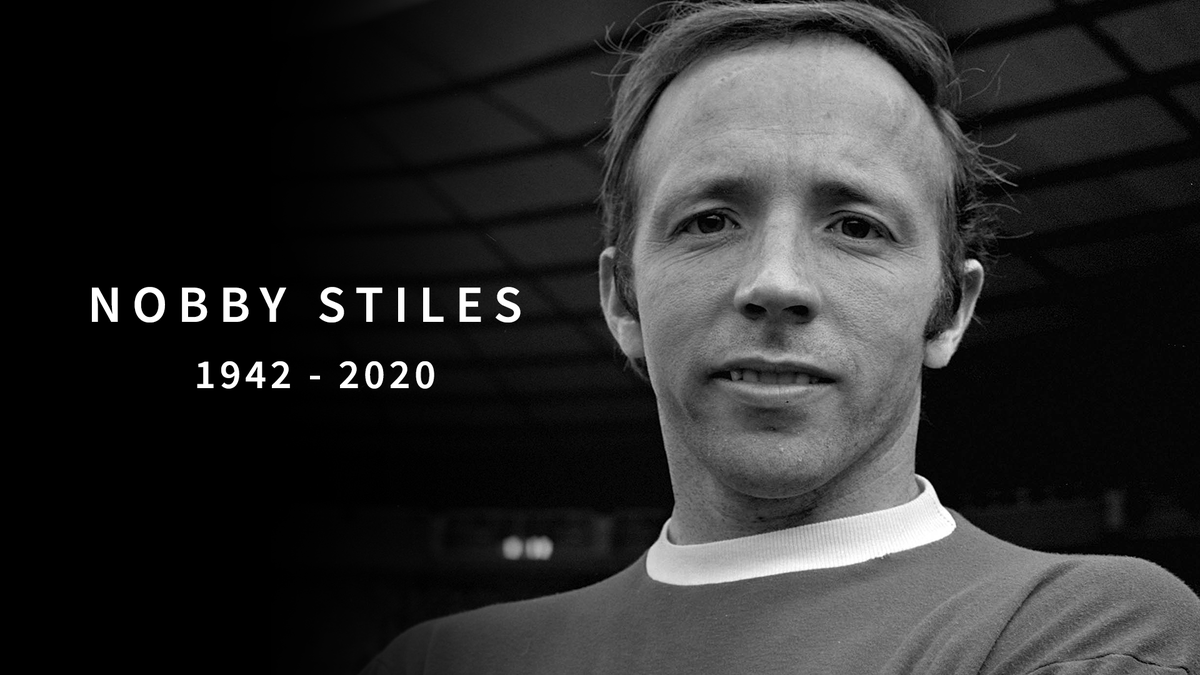 We are extremely saddened to learn of the passing of Nobby Stiles MBE.  An integral part of our first-ever European Cup-winning side, Nobby was a titan of the club's history, cherished for his heart and personality on and off the pitch.  He will be sorely missed by us all.