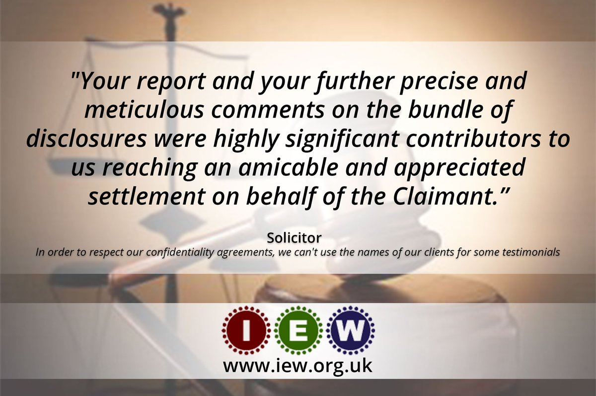 Proud of receiving such a positive feedback on our work! #motivation #testimonial #expertwitness #lawyer #mediation #disputes #evidence #mediator #solicitor #expertreport #claim #settlement https://t.co/PTG7j092TA