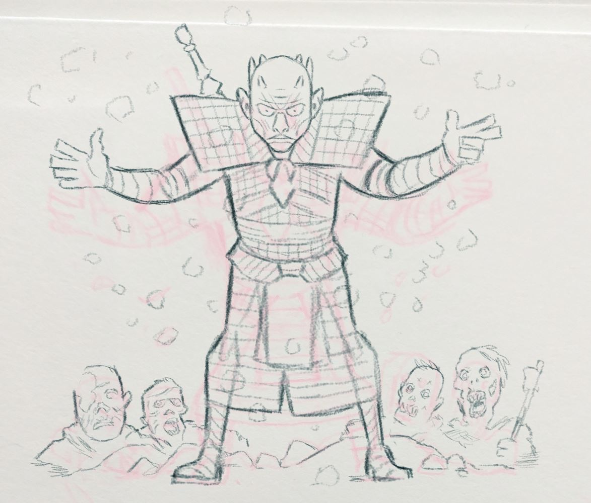 Moe #GameOfThrones #characterdesign roughs. #NightKing https://t.co/xXr7K8OaY7