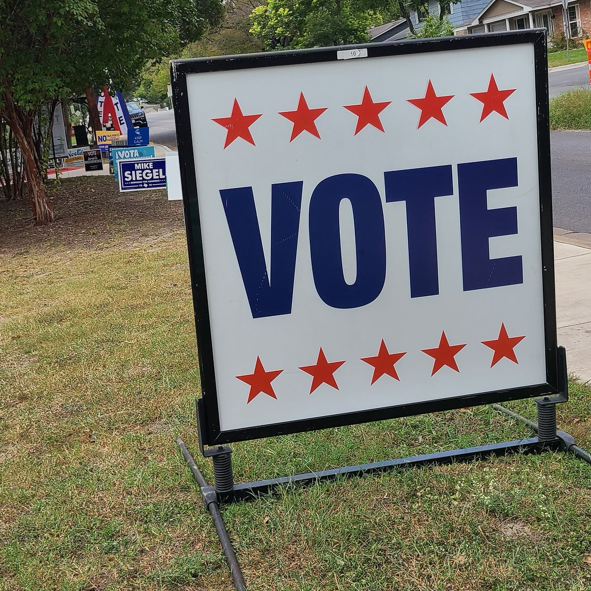 Psssttt... It's the last day of Early Voting in my home state, probably yours too. If you haven't already, go vote today, it'll be easier than trying on Tuesday.  If your vote didn't matter, they wouldn't try so hard to prevent it from being counted.  Please vote.