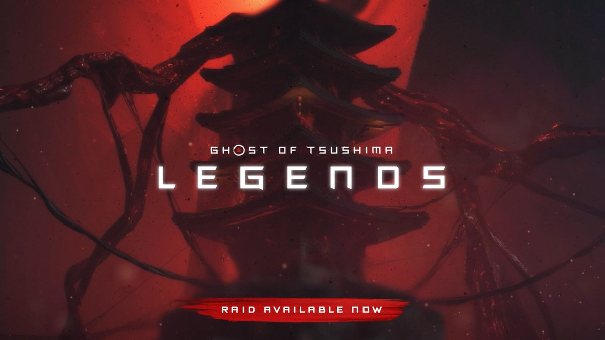 The #GhostOfTsushima: Legends Raid is now live! Best of luck to all teams who attempt to take down Iyo!