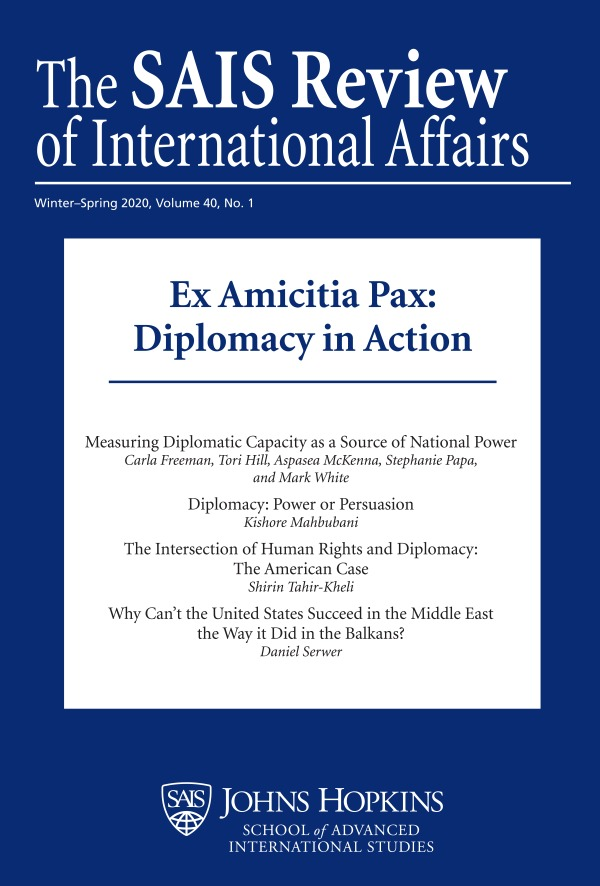 """The Many Faces of Power in Diplomatic Negotiations"" from @sumosika in @SAISReview has been made #OpenAccess, read now via @ProjectMUSE: https://t.co/NQWv9qHUJX https://t.co/LxTEmpgRJ4"