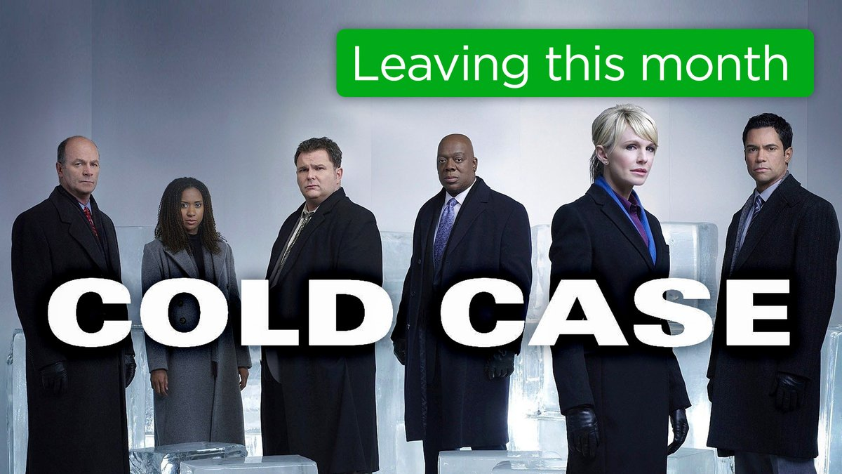 Just a couple more days until this case is closed. 💼  Watch Cold Case before the end of the month for free on The #Roku Channel ➡️ https://t.co/lNOLVzIrnH https://t.co/snl9r5bwWI