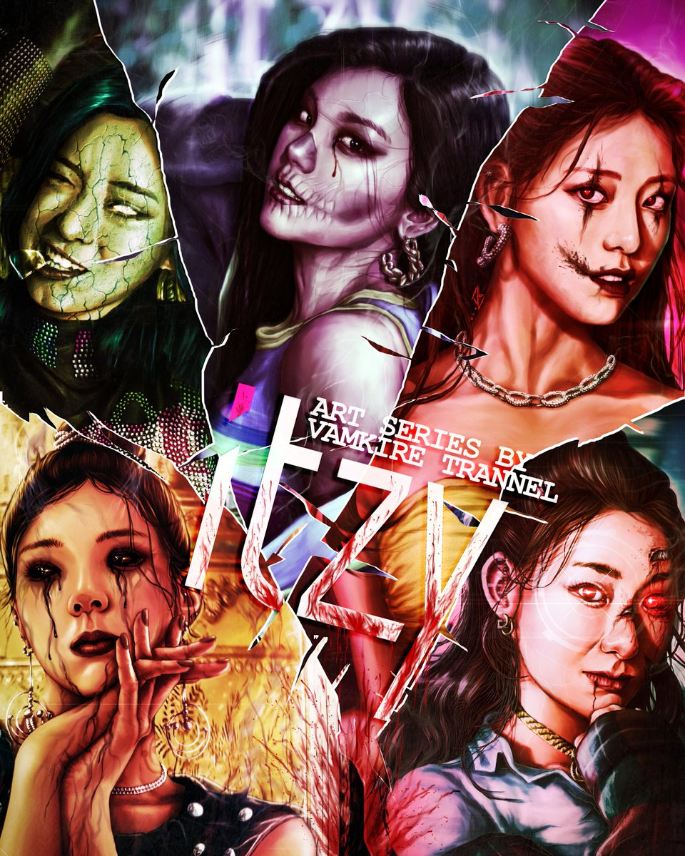 Finished my ITZY horror remastered artworks for SPOOKY SEASON! Starting off with Shin Ryujin, taking a reflective look at her otherworldly self. @ITZYofficial #ShinRyujin #Ryujin #ITZY #ITZYNotShy #NotShy #ITZYWannabe #Wannabe https://t.co/viBXwF6aHs