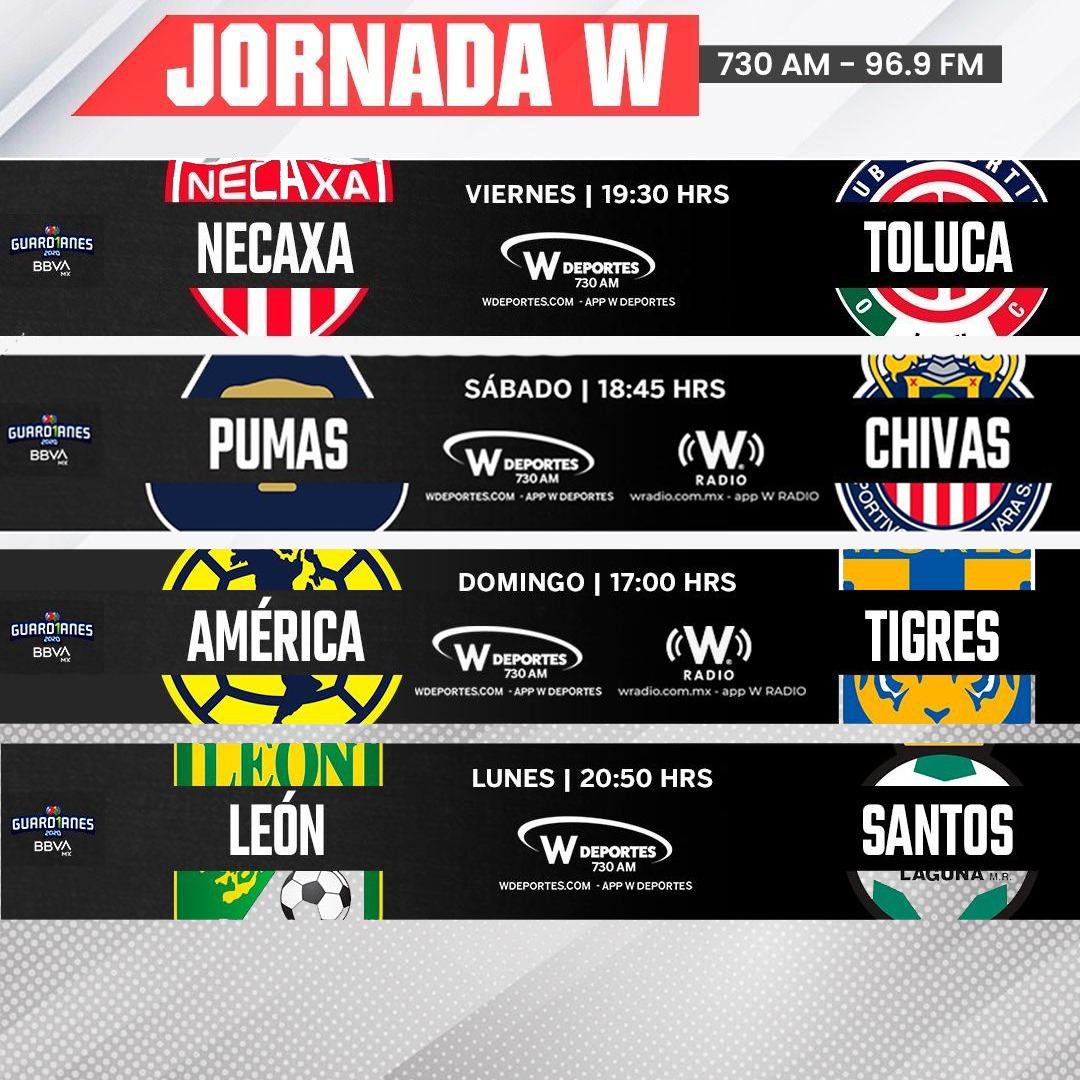 ¡No te pierdas ni un encuentro de la #LigaBBVAMX a través de @deportesWRADIO! https://t.co/TAFkYIuE4l