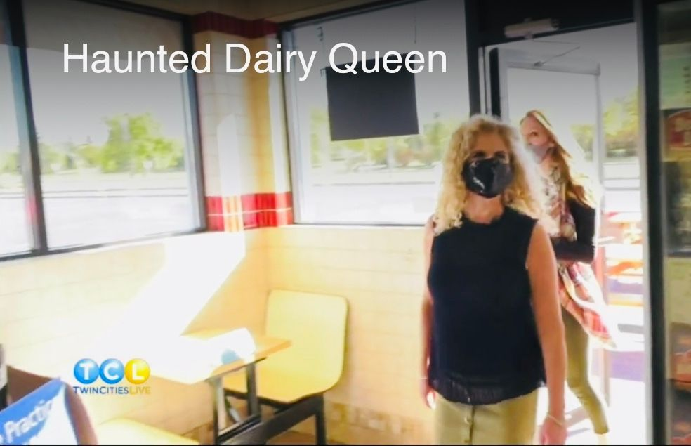 Whooohoooo, here's a great #ghostinvestigation that aired today on #twincitieslive! This Dairy Queen is haunted by a Casper like spirit!  https://t.co/8QfAf8GBR9 #thehappymedium #brittrunk #appreciation #greatsweets #appreciation #blizzard https://t.co/VwMcLQSebz