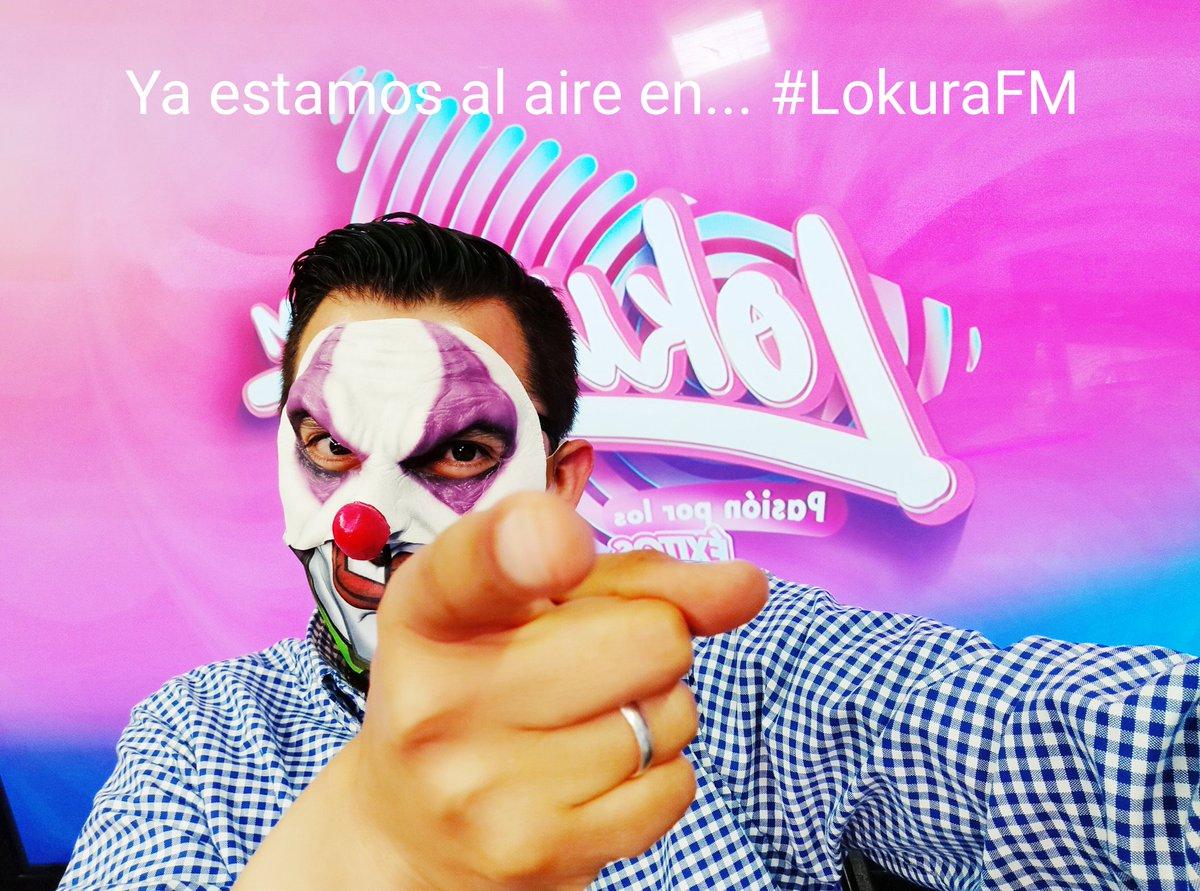 #AlAire en #LokuraFM #PuertoVallarta #Cuernavaca #Queretaro #Morelia #Toluca #tepic #Xalapa #Cancun #PlayaDelCarmen https://t.co/QT8wcMyH45