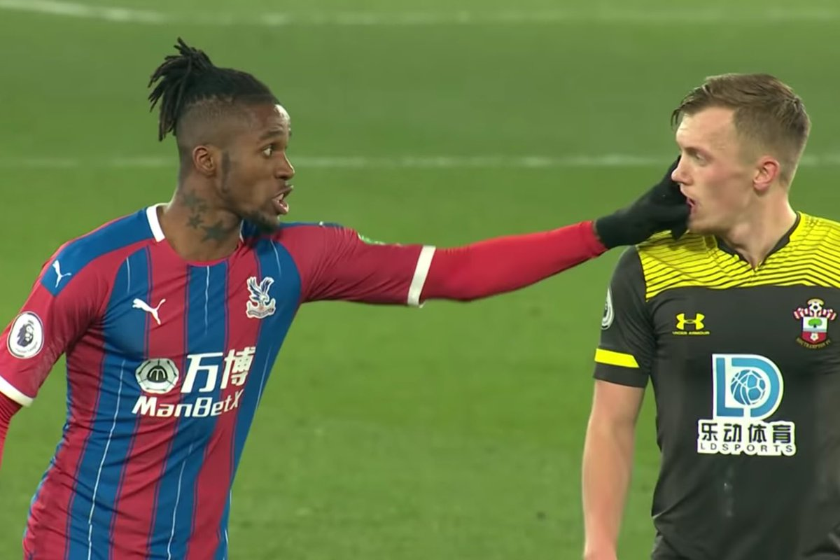 "Commentator: ""ZaHa Is BeTtEr ThAn ThAt"" 🤡  Zaha:   #WOLCRY #CPFC #saintsfc https://t.co/BMneNi1now"
