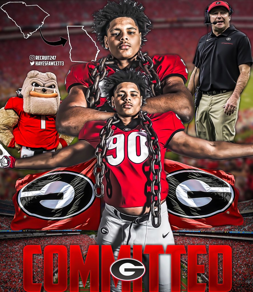 BREAKING: 4 🌟 DT Tyrion Ingram-Dawkins has just Committed to Georgia! The Top 90 Player in the 2021 Class chose the Bulldogs over South Carolina, Tennessee, and North Carolina He joins the #6 Class in the Nation (#3 SEC)