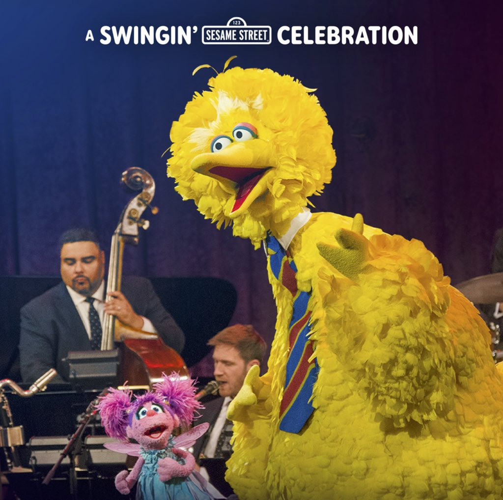 Don't forget: A Swingin' Sesame Street Celebration airs tonight on PBS at 9PM ET. You can also enjoy the digital album wherever you get music 🎷🦉🎶 #PuppetTearsPod . . #Puppets #Puppetry #Podcast #Muppets #SesameStreet #Music #Jazz #Sing #Singing #WyntonMarsalis #LincolnCenter https://t.co/wWXtYMcB1v