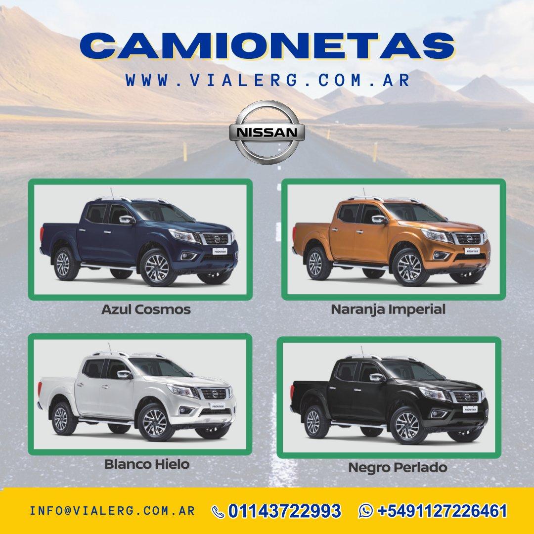 💪😉Llegaron las Camionetas NISSAN 📣 Disponemos de modelos diseñados para satisfacer las necesidades de los consumidores más exigentes. #vialerg #camionetas #NISSAN #maquinaria #vial #ambiental #calidad #furgon #performance #calidad #covid #gob #muni #municipio #latam #argentina https://t.co/dJQ2h027dN