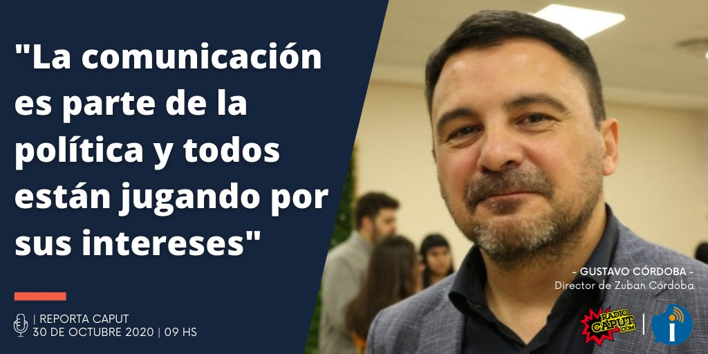👉 #PasoEnCaput: El Director de @Zuban_Cordoba, @gustavolcordoba analizó la imagen del gobierno y el contexto político de #Argentina . 💥 Leenos en https://t.co/36JEifZBcF . 📻 Reporta Caput - Lun a Vie a las 9h. https://t.co/j9N2SXYPmY