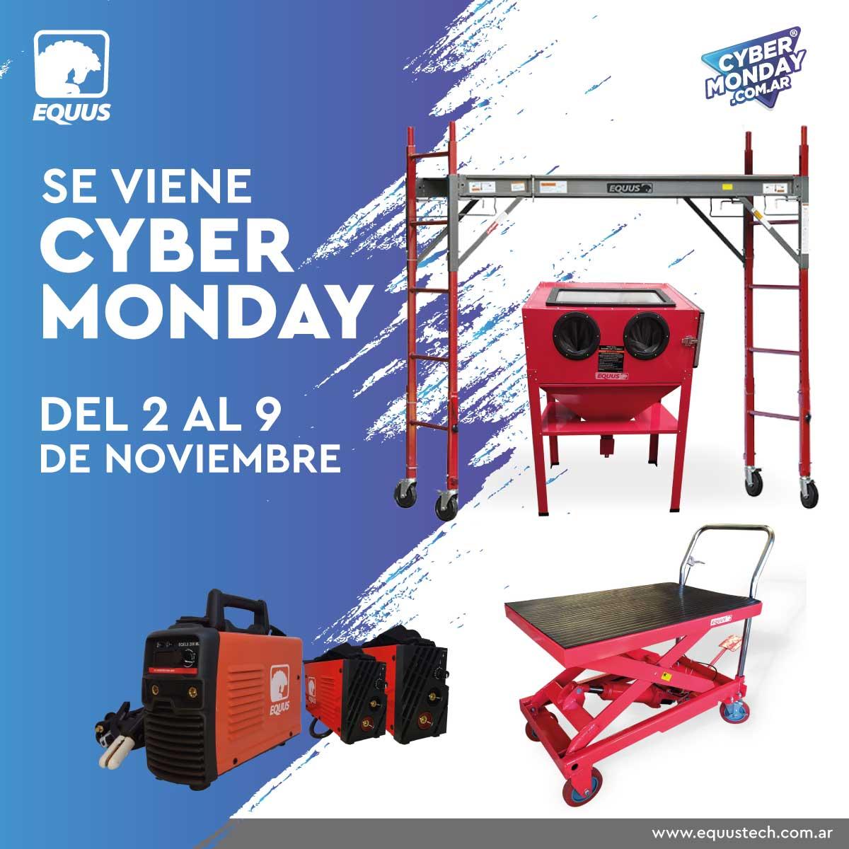 ¡El lunes empieza la MAYOR FIESTA DE DESCUENTOS! #CyberMonday!  Aprovecha todos los descuentos en https://t.co/YjUpQoIFQw  #cybermonday #ofertas #argentina https://t.co/B4TXqB8E7C