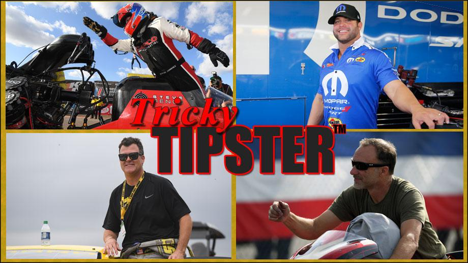 Tricky Tipster is in his element in Las Vegas and hes shared his picks for this weeks @NHRA event. nhra.com/news/2020/tric… #NHRA #speedforall