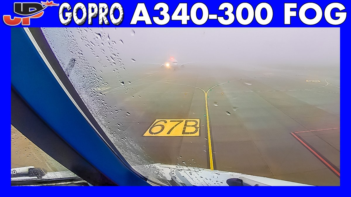 ✈️ Airbus A340 Fog Takeoff from Brussels Charleroi  🎥 WATCH VIDEO ➡️ https://t.co/fmblxzoBCX  #pilots #pilotlife #pilotsview #avgeek #avgeeks #airbus @Airbelgium @CRL_Airport #GoPro https://t.co/vs05rQKw8Q