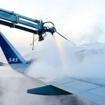 Image for the Tweet beginning: The deicing of SK4417, captured