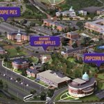 """🎃 It's a Halloween celebration! Kiosks throughout campus will be handing out complimentary """"trick or treat"""" themed snacks from 3-4 p.m. this afternoon! Take a look at the map below for a peek at the treat trail! 💜 #HPU365"""